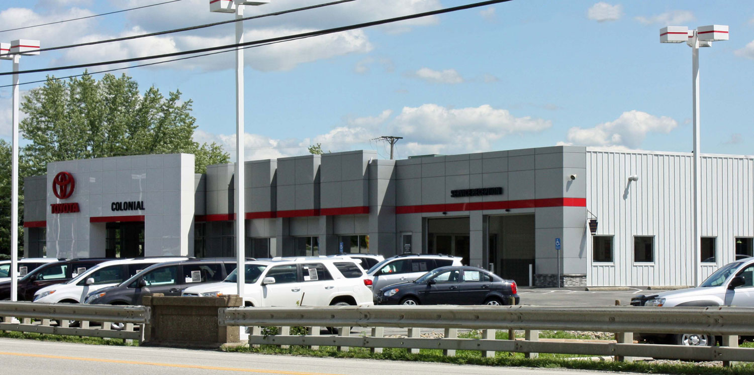 Toyota Demanded That The Existing Dealership Be Modernized To The Current  Toyota National Standards. The 8,000SF Existing Dealership Was Engulfed By  A ...